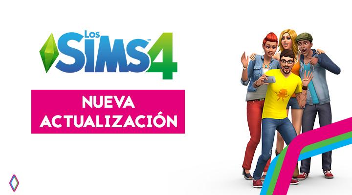 Nueva actualización 1.XX.XX para Los Sims 4
