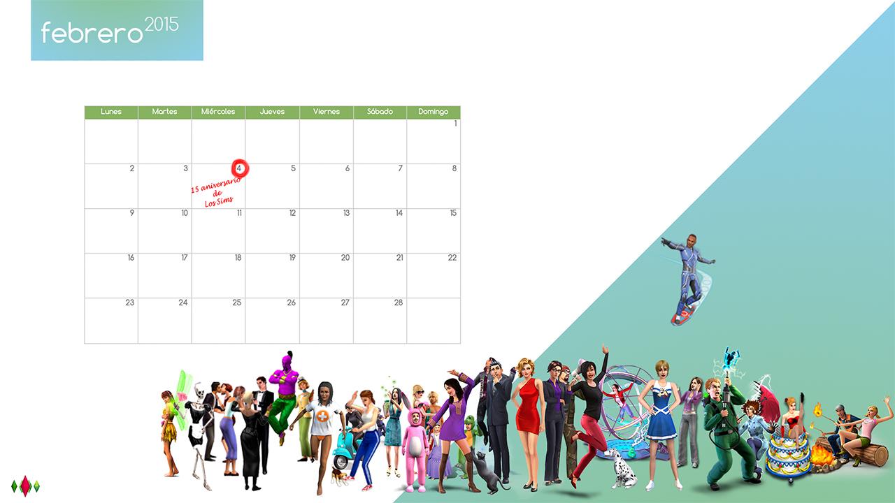 fondo-de-pantalla-calendario-de-los-sims-ano-2015
